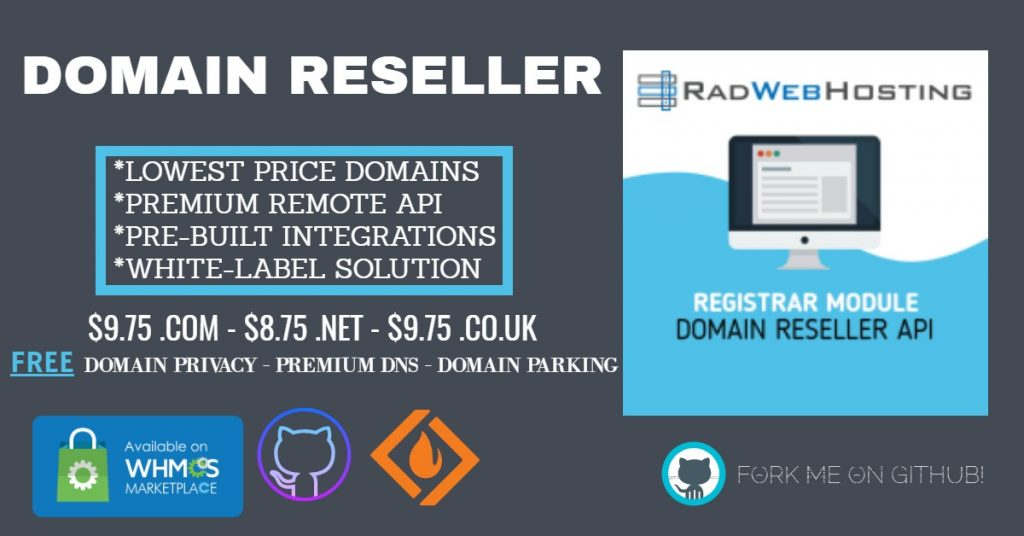 Domain Reseller for WHMCS